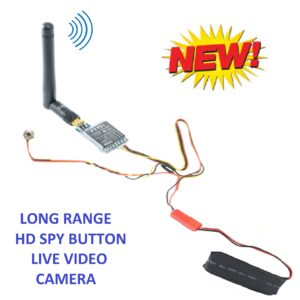 NO INTERNET LONG RANGE HD SPY BUTTON CAMERA